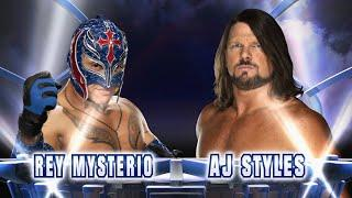 AJ Styles Says He Wants To Wrestle Rey Mysterio Because He Knows How Good Rey Is