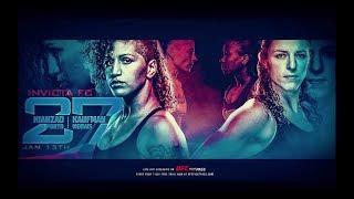Invicta Fighting Championships 27 Results: Sarah Kaufman Returns To Headline The Card