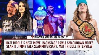 Fightful Wrestling Weekly (7/27): Matt Riddle, WWE Producers, Heat Squashed, Impact, WWN