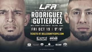 Live Coverage & Discussion For Legacy Fighting Alliance 52 Tonight At 9pm EST.