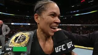 Amanda Nunes Resorted To Using Plan B At UFC 239