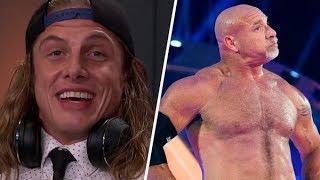 See Matt Riddle And Bill Goldberg's Awkward And Tense WWE Summerslam 2019 Backstage Encounter
