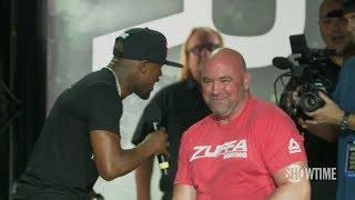 Dana White: UFC And Floyd Mayweather Working On A Fight Deal