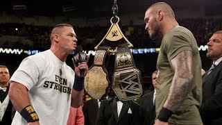 Randy Orton Wants To Wrestle John Cena At WrestleMania To Break The World Title Tie