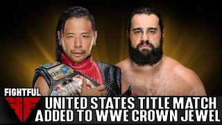Shinsuke Nakamura Defends US Title Against Rusev On WWE Crown Jewel Kick-Off Show