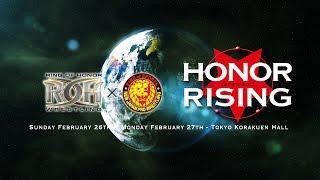 NJPW Honor Rising Cards Revealed; Kota Ibushi And Kenny Omega Team Up
