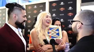 Charlotte Flair Denies Rumors That She And Andrade Are Engaged