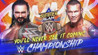 Taeler Hendrix Looks At WWE Summerslam 2020: Drew McIntyre vs. Randy Orton