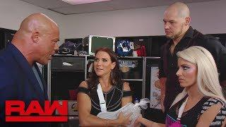 Stephanie McMahon Gives Kurt Angle Time Off, Names Constable Corbin Acting Raw General Manager