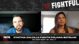 Cynthia Calvillo Discusses Weigh-In Miss For UFC Fight Night Buenos Aires