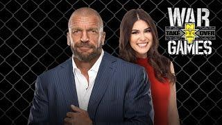 LIVE: Triple H Interviewed Recapping NXT WarGames