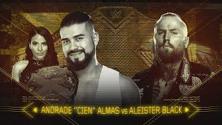 Aleister Black Comments on NXT Entrance, Velveteen Dream Feud, Andrade Almas' Growth