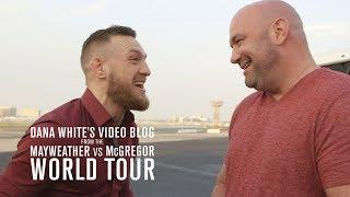 Dana White Video Blog Episode 1: Conor Lands In LA