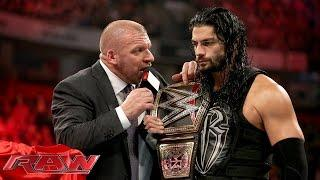 Triple H On Roman Reigns Turning Heel: 'For The People That Hate Him, He's Already Turned'
