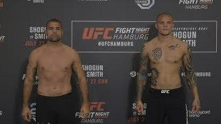 UFC Fight Night Hamburg Weigh-In Results, All Fighters On Weight
