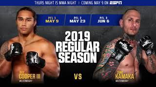 PFL Season 2, Event 1 Weigh-In Results – One Fighter Misses Weight