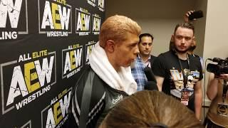 Cody Rhodes Discusses His AEW DON Entrance, The Shot At Triple H, And Being A Wrestler First