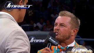 Drake Maverick, as Rockstar Spud, left TNA after almost five years when they offered to restructure his contract for less money