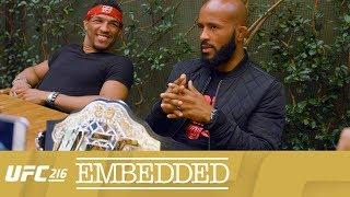 UFC 216 Embedded: Vlog Series - Episodes 3-4