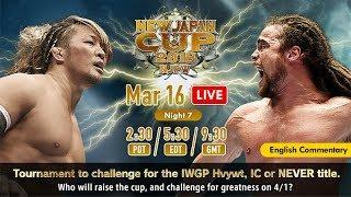 NJPW New Japan Cup 2018 Day 7 Results: We Have Our First Finalist & Chaos Gets Some Big Tag Wins