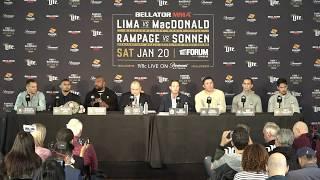LIVE: Bellator 192 Press Conference