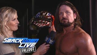 AJ Styles Wants To Face Nakamura ... And Rusev, And Balor, And Rollins ... And Also Main Event 'Mania