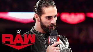 12/9/2019 WWE Raw Results: Two Title Matches, A Divorce & Seth Rollins Shows His True Colors