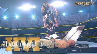 IMPACT Wrestling's 'Slammiversary XVI' PPV Match Times