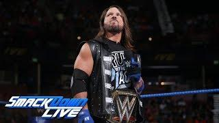 AJ Styles responds to Samoa Joe's recent comments.