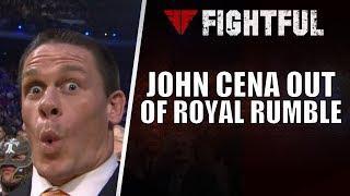WWE Confirms That John Cena Will Not Be In Men's Royal Rumble Match; Braun Strowman Replacing Cena