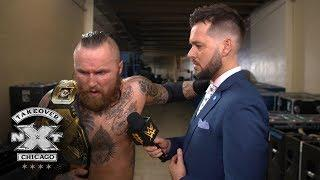 Aleister Black Explains The Meaning Of His Back Tattoo