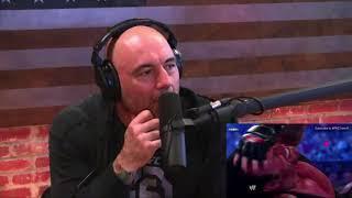 Video: UFC Commentator Joe Rogan Analyzes WWE Finishing Moves