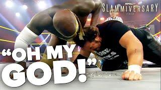 The Rock Praises Moose, Finn Balor Shouts Out Good Brothers On Twitter | Slammiversary Fight-Size