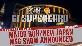 Matt Taven Goes In-Depth About ROH And NJPW Running A Joint-Show At Madison Square Garden
