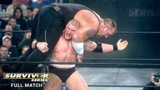 Full Match: Brock Lesnar vs. Big Show - WWE Title Match: Survivor Series 2002