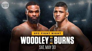 UFC Fight Night: Woodley vs. Burns Weigh-In Results, One Fighter Misses