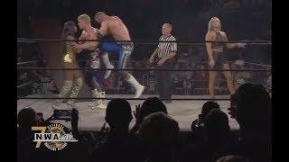 Cody Loses The NWA Worlds Heavyweight Championship To Nick Aldis At NWA's 70th Anniversary Show