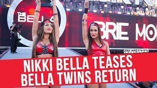Fight Size Update: Nikki Bella Teases A Bella Twins Return, Konnan Returning To AAA, Rey Mysterio-WWE Update, More