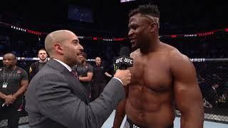Cain Velasquez Says Knee Injury Lead To UFC Phoenix Main Event Finish, Francis Ngannou Disagrees