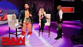 Finn Balor Says There's No Heat Between He And Lio Rush