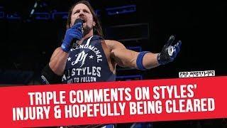 Triple H Comments On AJ Styles' Status