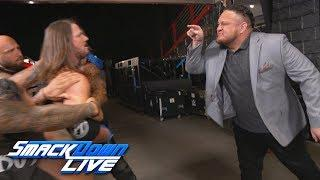 AJ Styles Defends His WWE Title Against Samoa Joe At WWE Super Show-Down In No DQ Bout