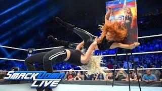 Charlotte Flair: 'I Had The Iron Man Match With Sasha At Roadblock So I'm Ready To Push The Envelope With Becky'