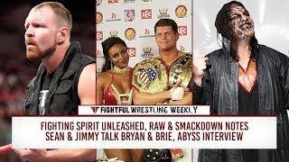Fightful Wrestling Weekly 10/5: Saudi Arabia, Raw & SD, NJPW - AXS, Christopher Daniels, LAX - OGz