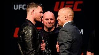 LIVE: UFC 217: Press Conference
