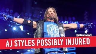Report: AJ Styles Missed Live Events Due To Injury