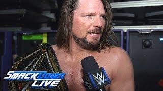 AJ Styles Discusses Facing Shinsuke Nakamura At WrestleMania 34 And WWE Running A Stadium Show In Australia This Year