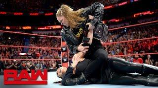Ronda Rousey Spoils Stephanie McMahon's Return To Raw With Another Armbar