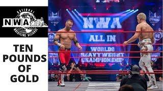 Nick Aldis vs Cody Rhodes | ALL IN | NWA Ten Pounds of Gold 34