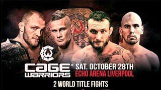 Cage Warriors 88 Results: Two Title Fights Highlight This Card